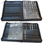 Zippered Pen Case Storage, Displays & Holds 60 Pens