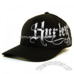 black Disgruntled Flex Cap