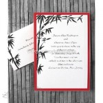 chic elegance wedding cards