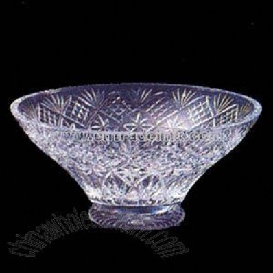 crystal classic flared bowl