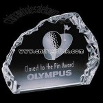 crystal golf iceberg award