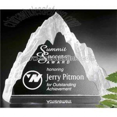 crystal mountain shape award