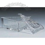 crystal triangular box