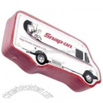 delivery truck shape compressed shop towel