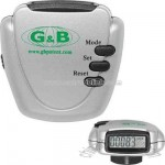 digital pedometer with step counter