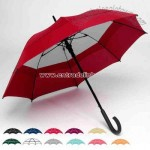 double canopy  solid umbrella