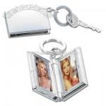 double photo frame key ring