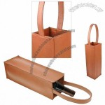 granulated cow leather One wine bottle holder