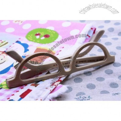 handmade moon shape reading bamboo glasses eyewear eyeglasses