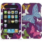 iPhone 3G/ 3GS Butterfly Design Protector Case