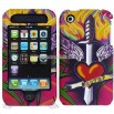 iPhone 3G/ 3GS Love Thorn Design Protector Case