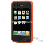 iPhone 3G Two-Tone Premium Silicone Case - Red