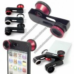 iPhone 5 360 degrees Quick -change Fish Eye Wide Angle Macro Camera Lens Kit
