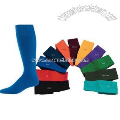 knee length tube sock
