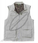 ladies multi pocketed hunting vest with deep inside zippered pockets