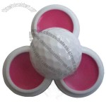 lip balm ball with golf ball shape