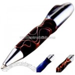 liquid marble lacquer lower barrel ballpoint pen