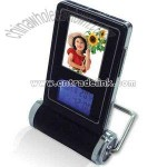 mini digital photo frame with clock