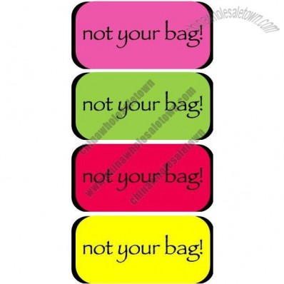 not your bag! Luggage Handle Wrap