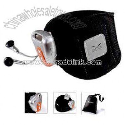 pedometer kit with earphones