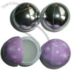 shiny ball lip balm
