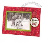 sunrise Jingle All The Way Paper Frame